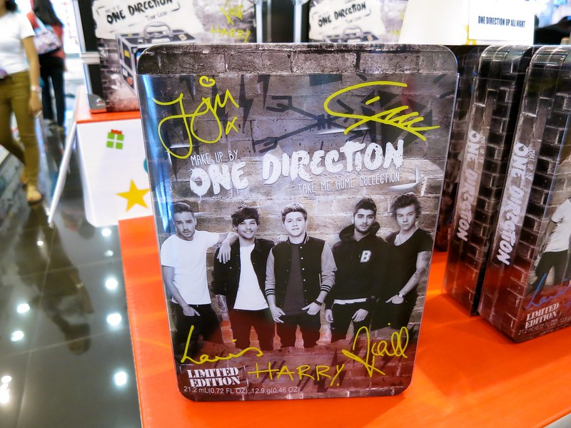 One Direction makeup kits