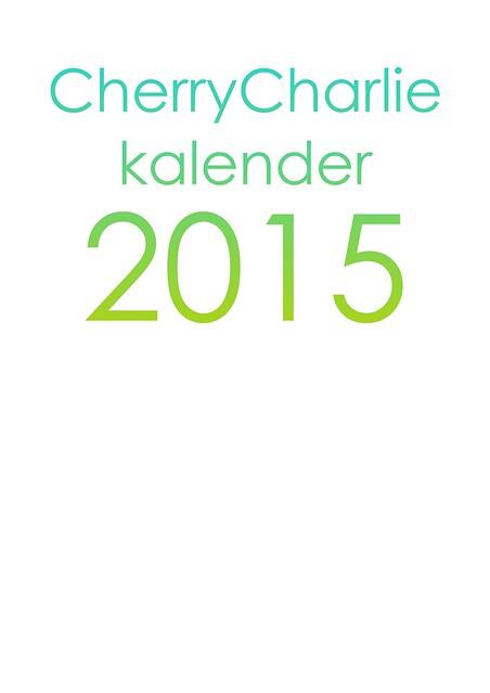 Free download: CherryCharlie calandar 2015