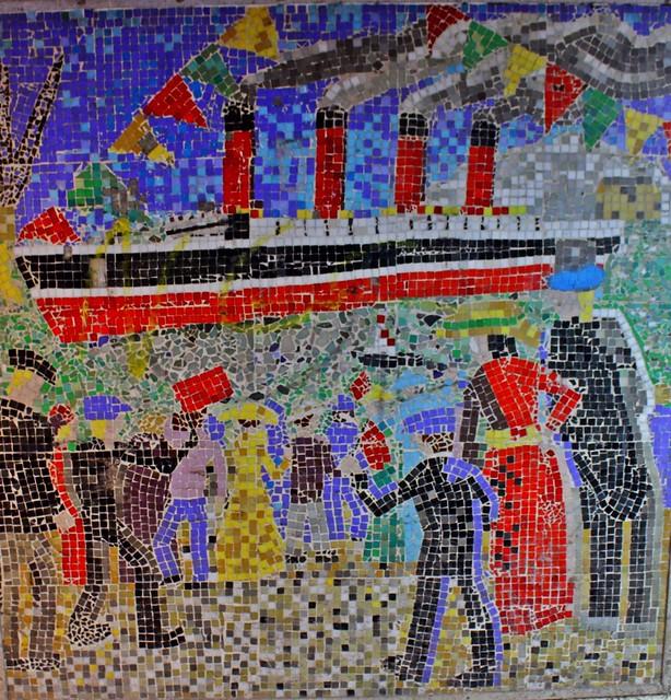Jesmond Subway Mosaics - Mauretania