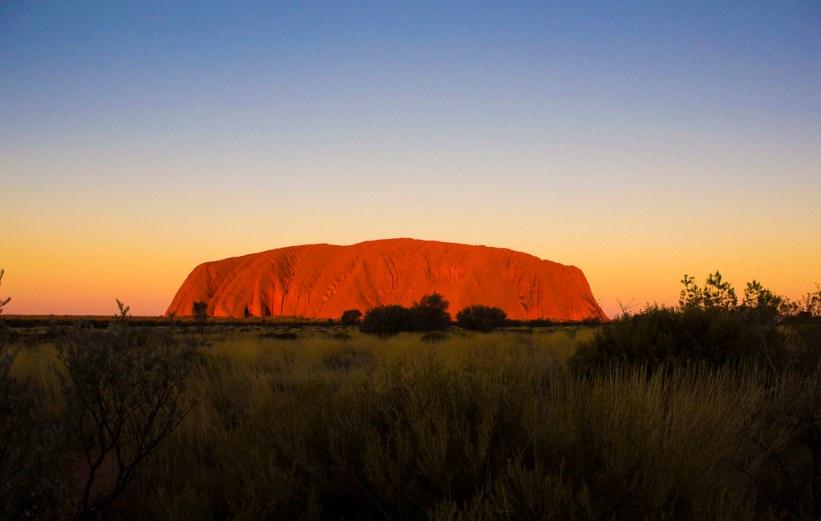 Australien er perfekt for solorejsende