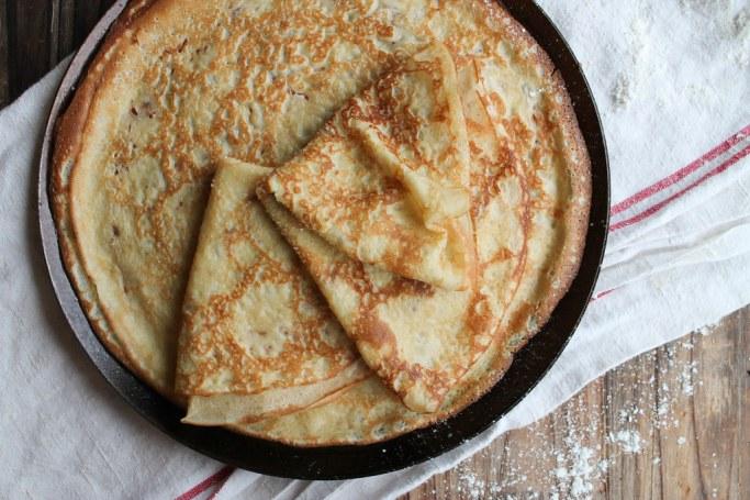 recette de crêpe