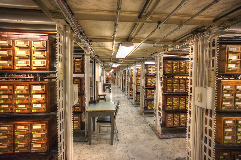 Card catalog, Library of Congress