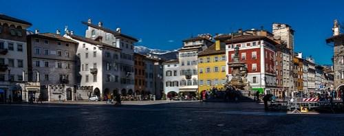 Piazza di Fiera Trento Italy