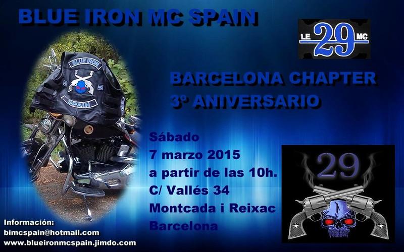 3er. Aniv. Blue Iron MC