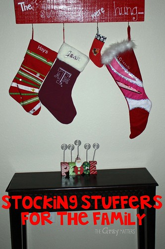 Stocking Stuffers for the Family