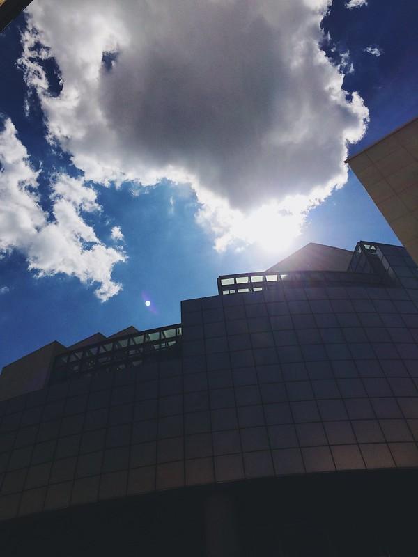 L'opéra Bastille, créé par l'architecte uruguayen Carlos Ott