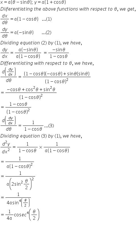 RD Sharma Class 12 Solutions Chapter 12 Higher Order Derivatives Ex 12.1 Q13-ii
