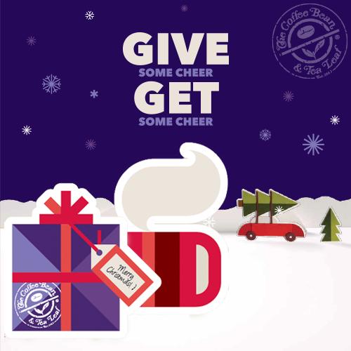 Christmas Gift CBTL cards