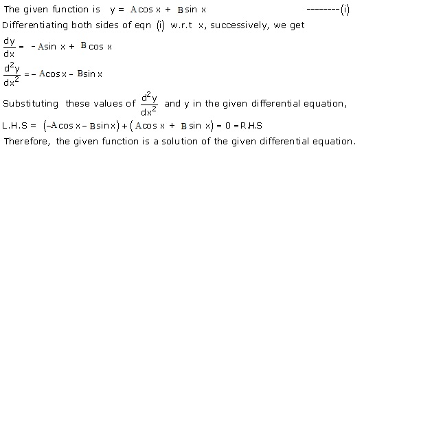 RD Sharma Class 12 Solutions Chapter 22 Differential Equations Ex 22.3 Q4