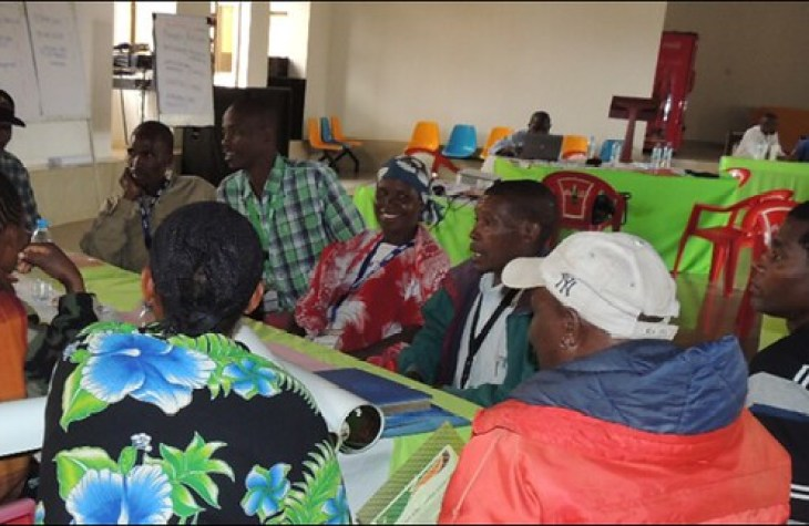 Babati District R4D platform meeting in progress (Photo credit: IITA/Catherine Njuguna)