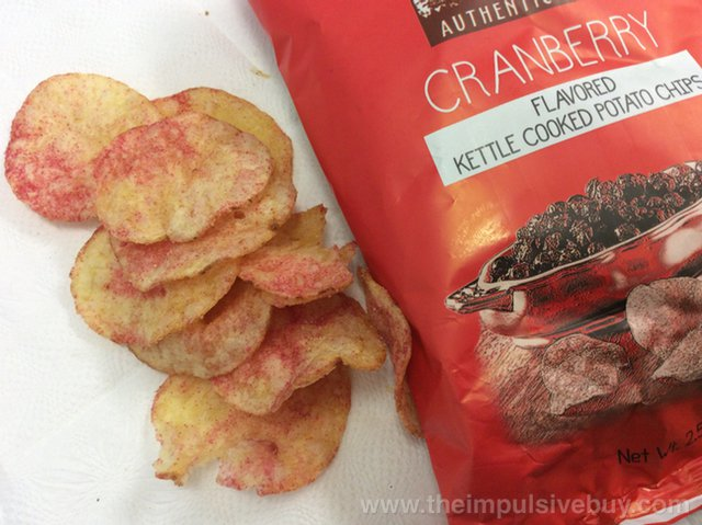 Boulder Canyon Thanksgiving Feast Potato Chips Cranberry