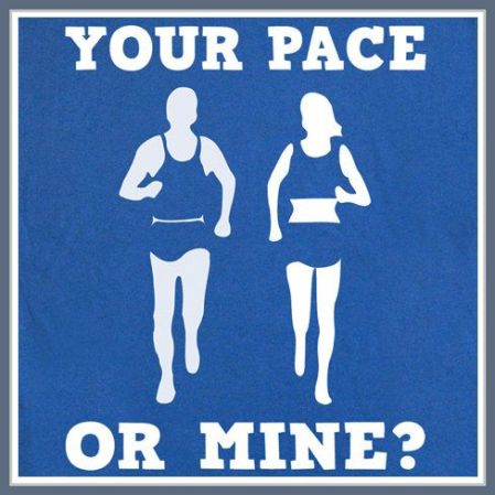 your pace of mine