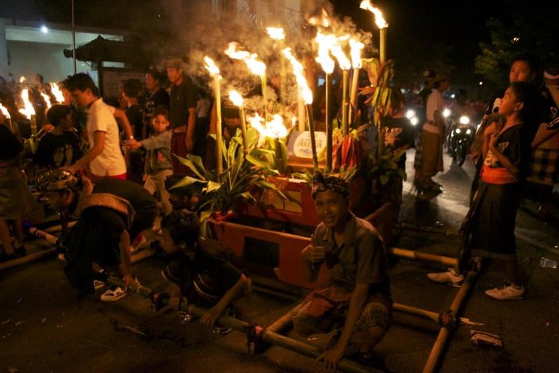 Nyepi Night Parade