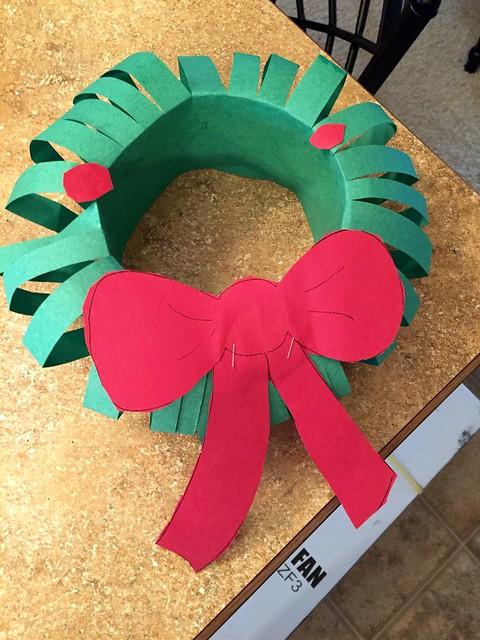 Wreath Jacey made  :D