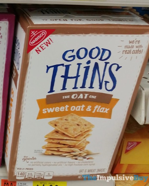 Good Thins Sweet Oat & Flax