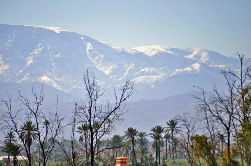 Maravillosas vistas de la cordillera del Atlas desde nuestro ámplio balcón en la habitación Four Seasons Marrakech, oasis en la ciudad roja Four Seasons Marrakech, oasis en la ciudad roja 15907927555 552807ae92 h