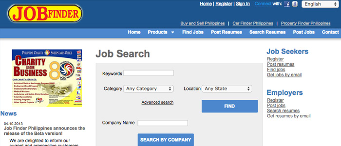 Job Search Websites in the Philippines - Job Finder