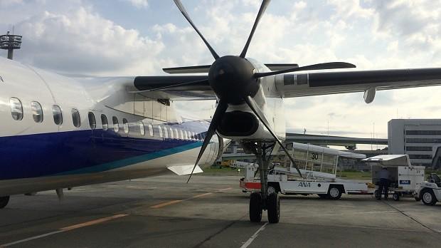 160721 ボンバルディア・エアロスペース社のDHC8-Q400その2