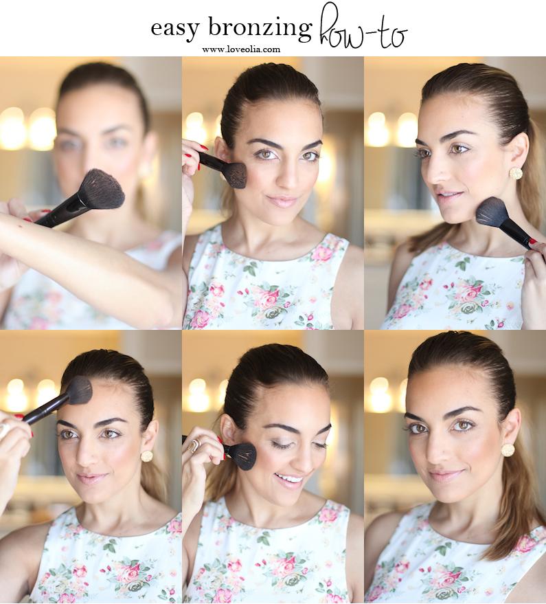 easy bronzer tutorial