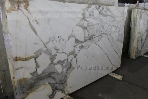 Calacatta Borghini Marble Slab 108in X 60in 2cm Marble