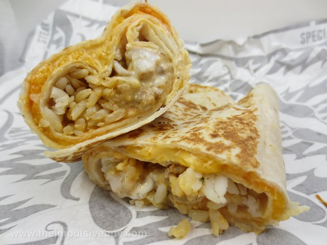 Review Taco Bell Sriracha Quesarito - The Impulsive Buy-5477