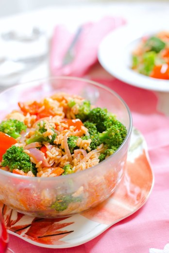 Rice and Veggie Bowl