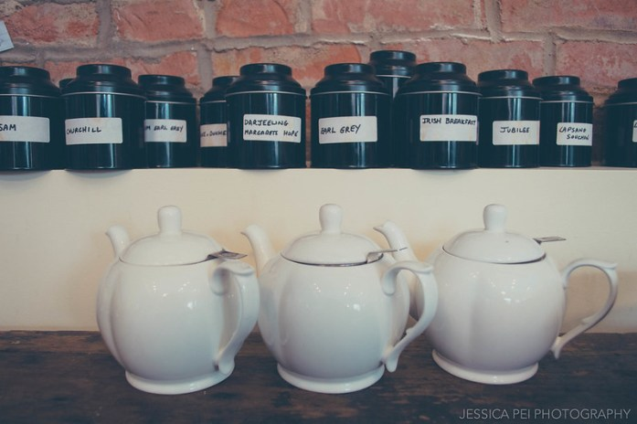 Teapots London Tea Room St. Louis