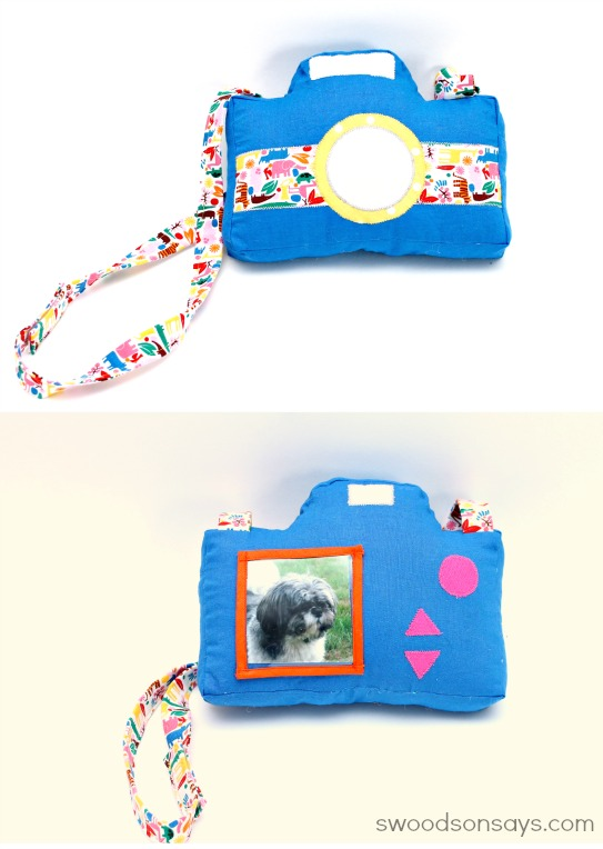 Camera Plushie