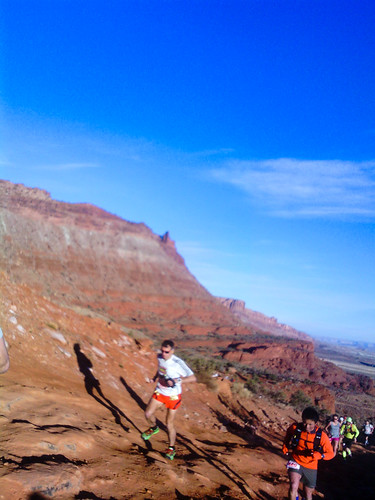 Moab Red Hot first climb