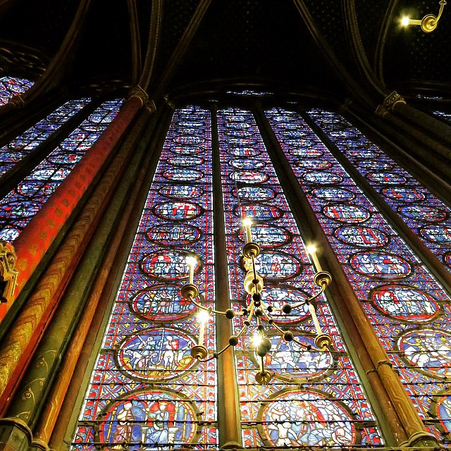 Paris Day One: Sainte-Chapelle.