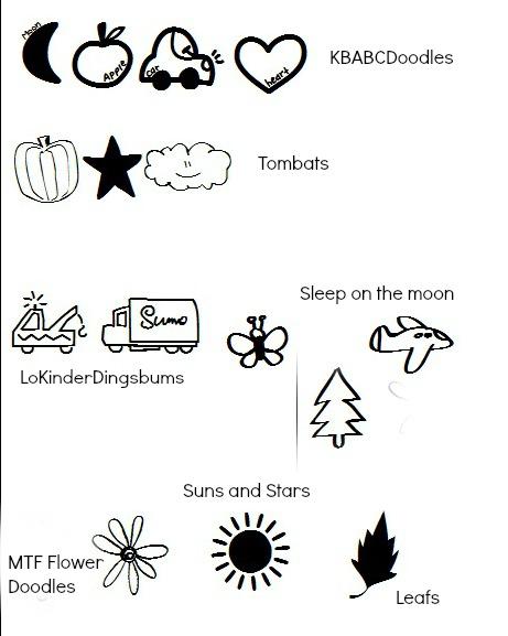 Woodburning symbols