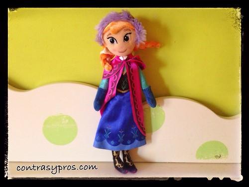 Anna, de Frozen (juguetes sexistas)