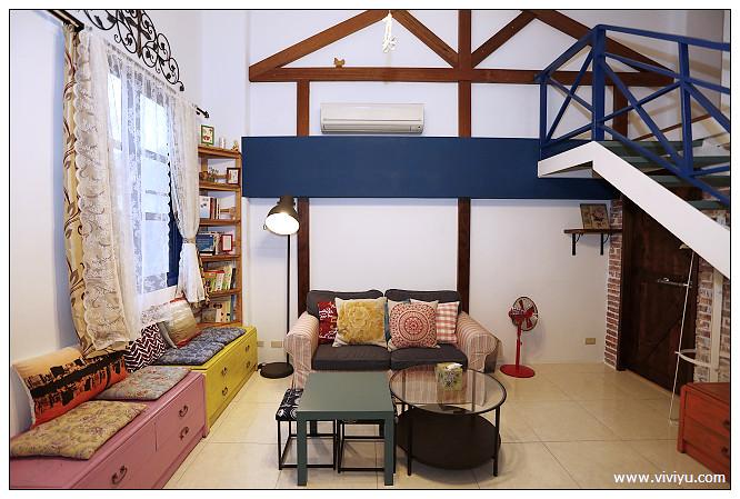 三星,宜蘭,愛情海社區,棕櫚藍,民宿 @VIVIYU小世界