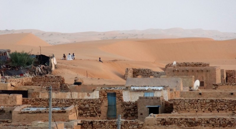 Dunes 1, Chinguetti 0
