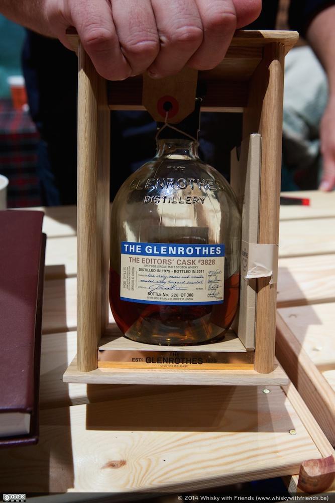 In schoonheid eindigen met The Glenrothes - The Editor's Caks #3828