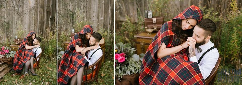 Wedding Creative Inspiration Hamilton Woodland engagement Photography 0065
