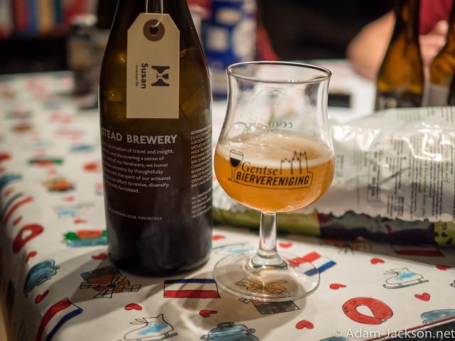 Beer Tasting in Gent @ Tim's House (2015)