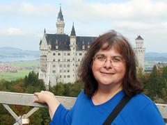 Myself on Marienbrucke bridge with Neuschanstein
