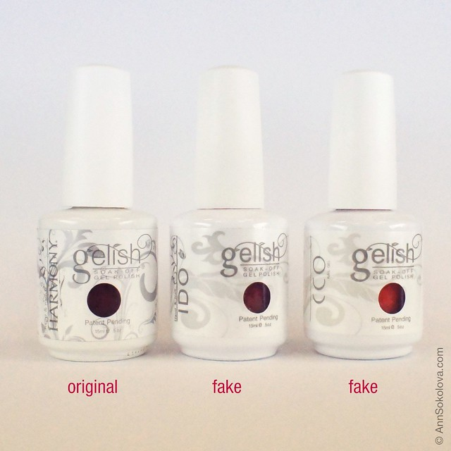 03 Gelish Gel Polish Fake
