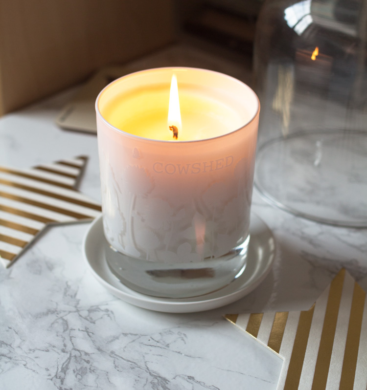cowshed candle