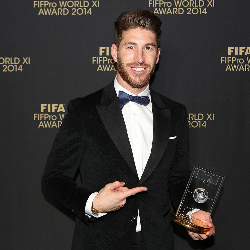Sergio Ramos 2018 Taglio Di Capelli Barba Occhi Peso