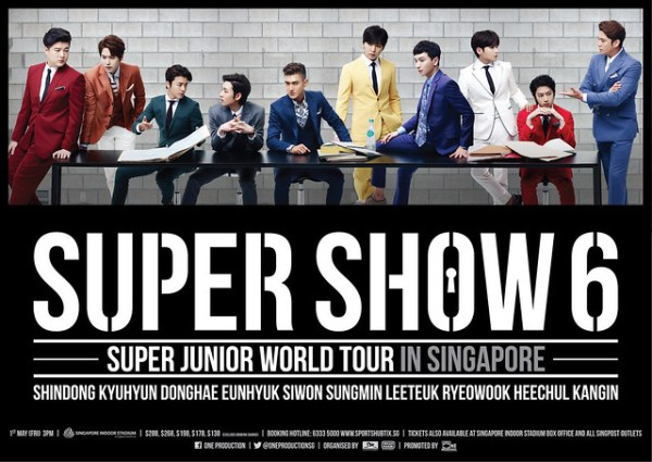 Super Show 6 in Singapore sgXCLUSIVE