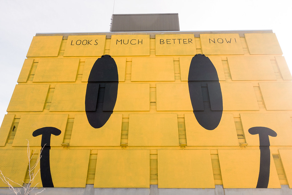 Smiley Face - Mural