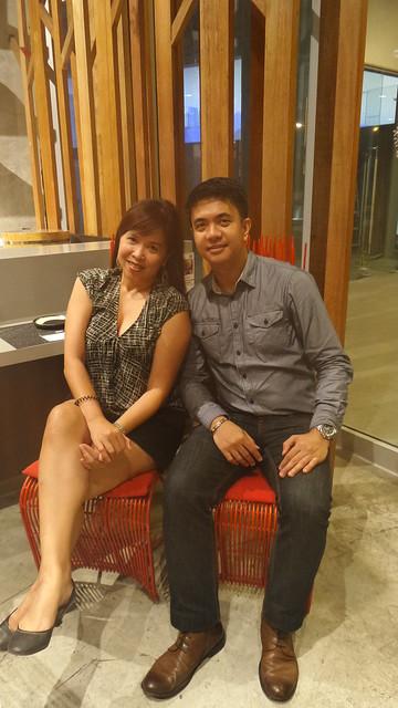 with Michael de la Rosa