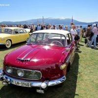 1958 Tatra 603 Aerodynamic Saloon at the 2014 Pebble Beach Concours