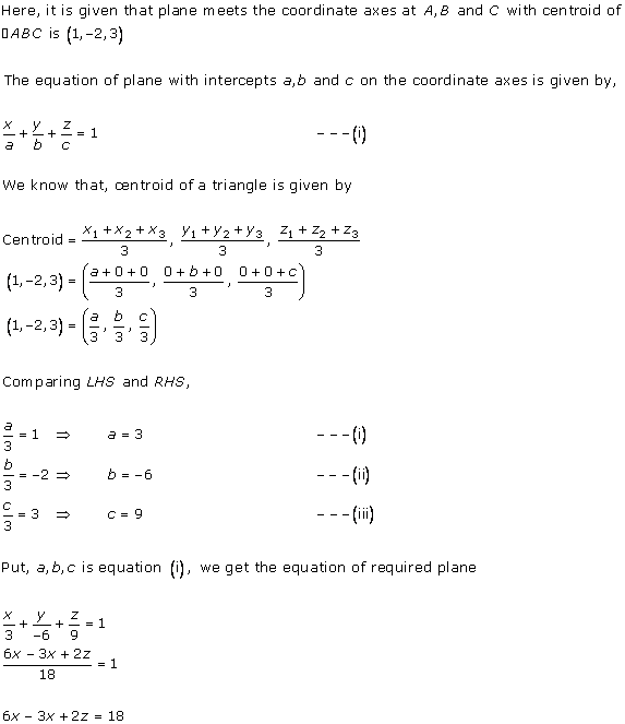 RD Sharma Class 12 Solutions Chapter 29 The Plane 29.2 Q5