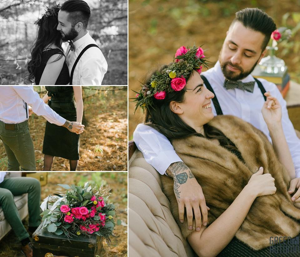Wedding Creative Inspiration Hamilton Woodland engagement Photography 0007