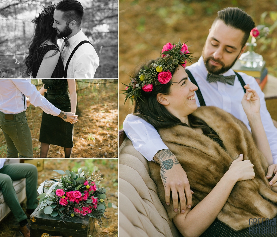 Wedding Creative Inspiration Hamilton Woodland engagement Photography 0007