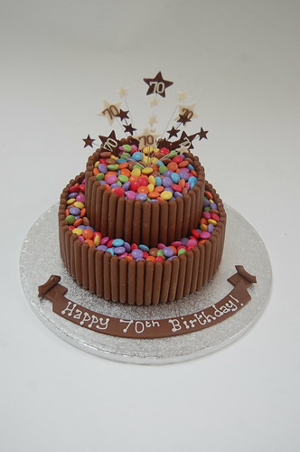 Smarties and Chocolate Fingers Cake – Beautiful Birthday Cakes