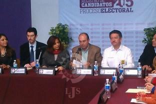 Solicito registro Fernando Pérez Espinosa como candidato a la gubernatura por PRD, PT y CP